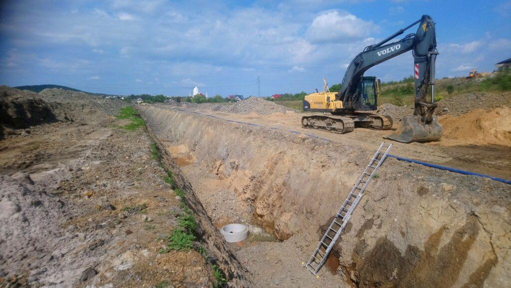 Kanalizacja Wodociagi Mojcza Uslugi Koparka Stankop 04
